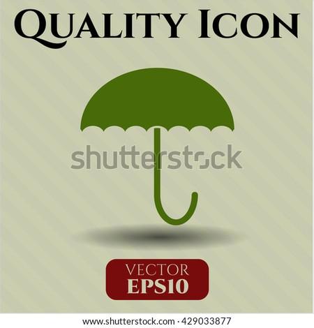 Umbrella icon or symbol