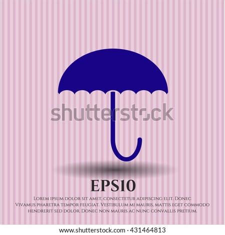 umbrella icon  umbrella icon