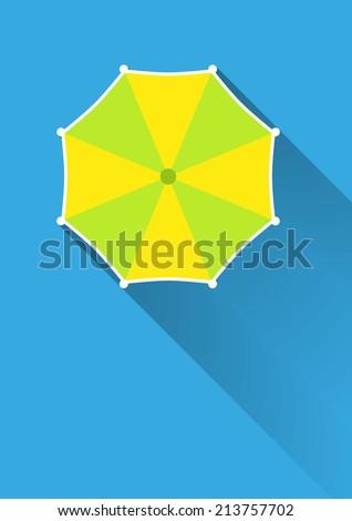 Umbrella, top view