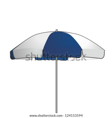 Umbrella, vector drawing