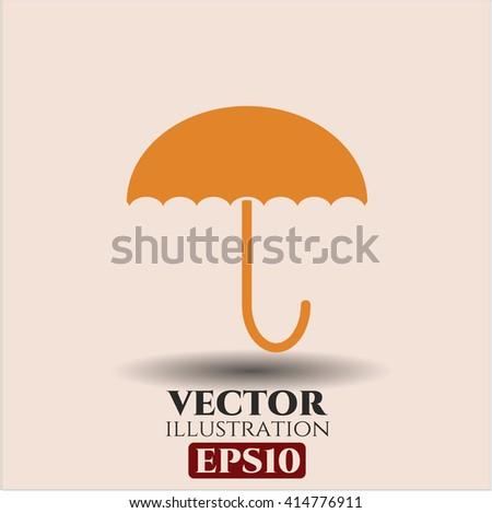 Umbrella vector icon
