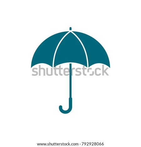 umbrella vector icon, umbrella icon in trendy flat style