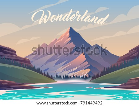 unbelievable mountain landscape