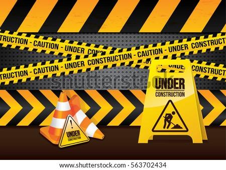 Under construction background