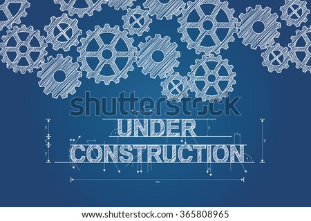 stock-vector-under-construction-blueprint-concept-sketched-drawing-with-gear-wheels-technical-drawing
