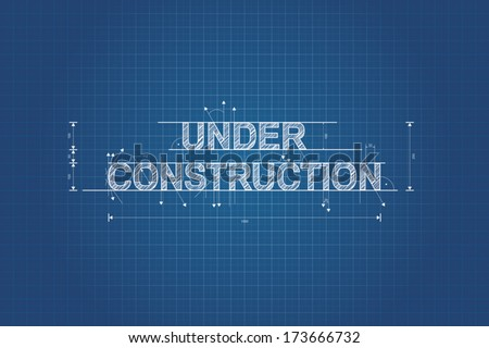 Website under construction download free vector art stock under construction blueprint technical drawing scribble style malvernweather Image collections
