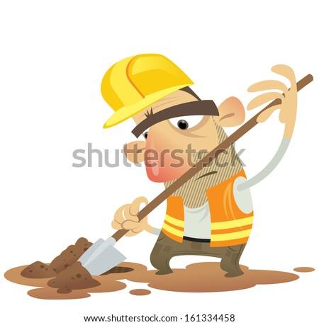 Construction Building Man