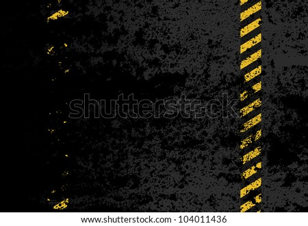Under Construction - grunge vector background
