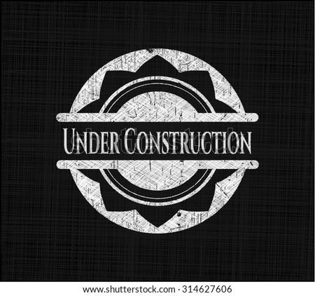 Under Construction on blackboard