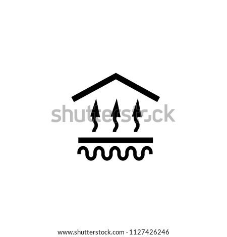 under floor heating system icon