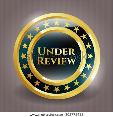 Under Review shiny badge