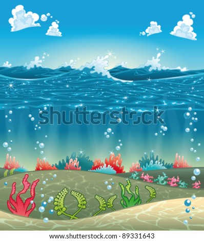 under the sea funny cartoon