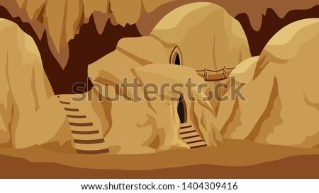 underground rock city cave