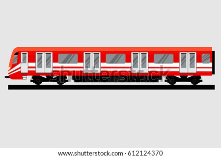 underground train isolated