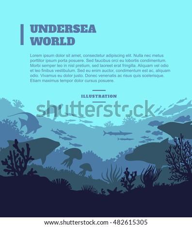 undersea world illustration