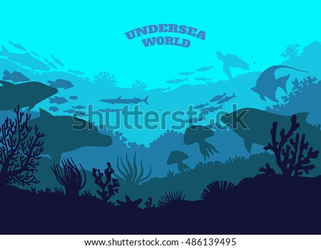 undersea world illustration