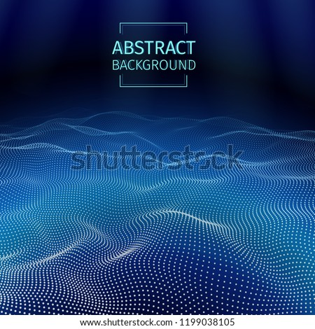 underwater abstract background