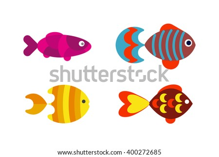 underwater aquarium fish and