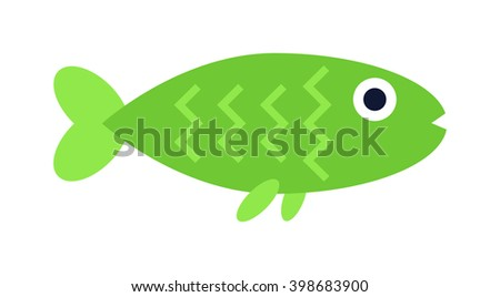 underwater aquarium green fish