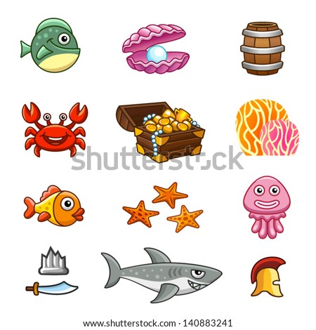 stock-vector-underwater-assets-140883241