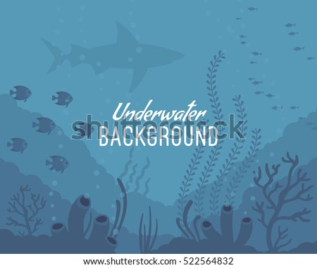 underwater background  marine