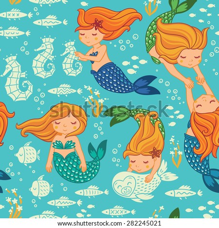 Vector Seamless Pattern For Childrens Wallpapers 282245021