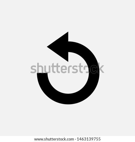 undo icon back or return