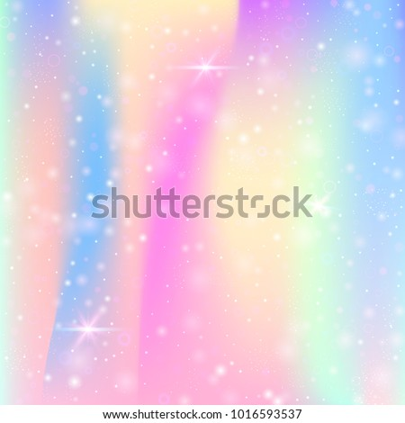 unicorn background with rainbow