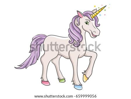 unicorn cartoon unicorn