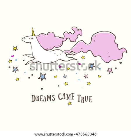 unicorn  dreams came true