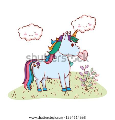 Unicorn symbol Random Royalty-Free Vectors | Imageric com