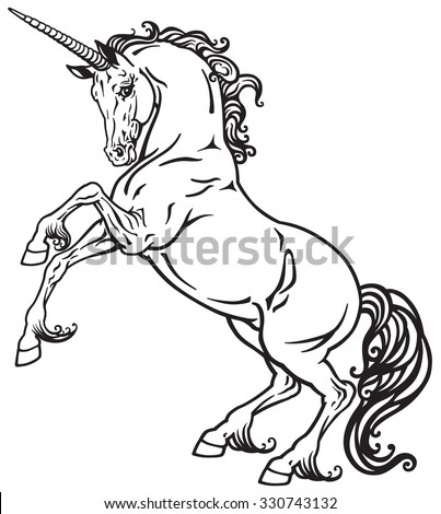 unicorn mythological horse