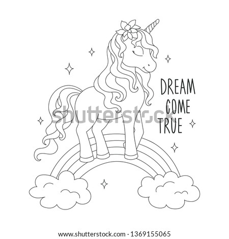 Unicorn Rainbow Coloring Pages At Getdrawings Free Download