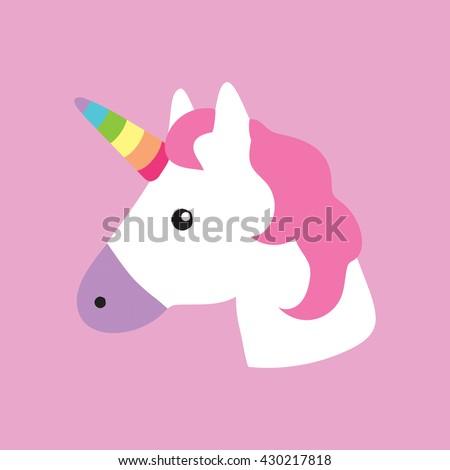 unicorn portrait decor kids