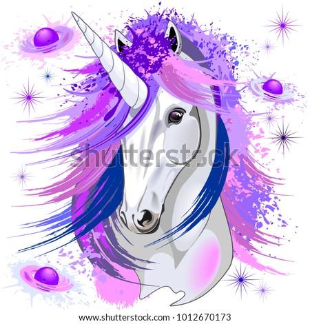 unicorn spirit pink and purple