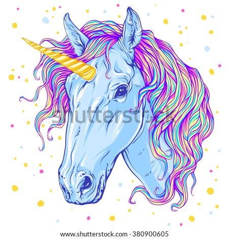 unicorn vector illustration