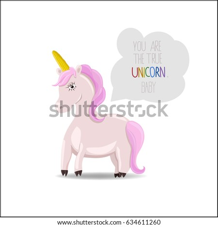 unicorn with pink hair and a