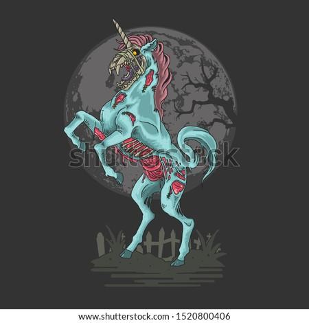 unicorn zombie nightmare