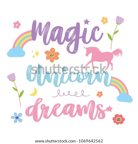 unicorns horse cute dream