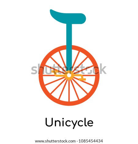 Unicycle icon isolated on white background for your web and mobile app design, unicycle vector logo concept