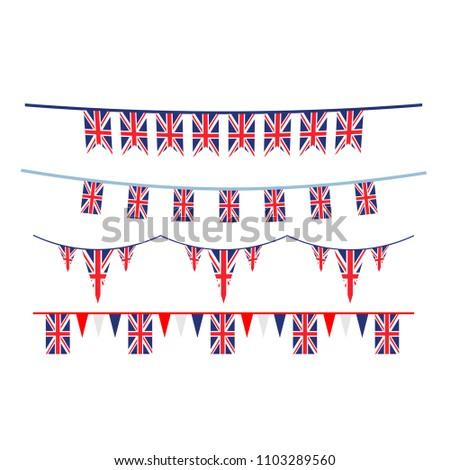 Union Jack flag design #1103289560