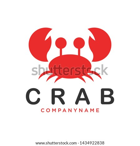 Unique and elegant crab design Can be applied to various media and various industries MIsal the food industry, seafood, clothing brands and so on.