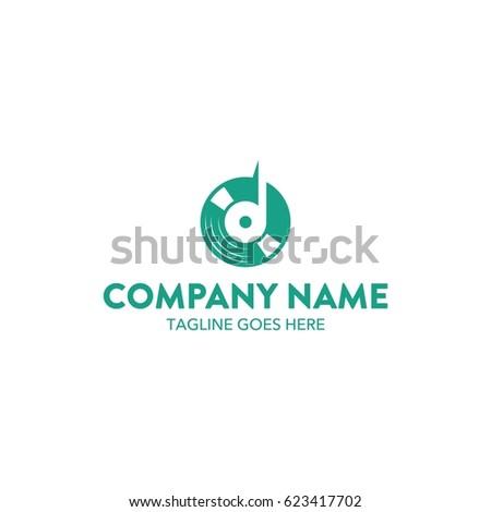 unique dj logo