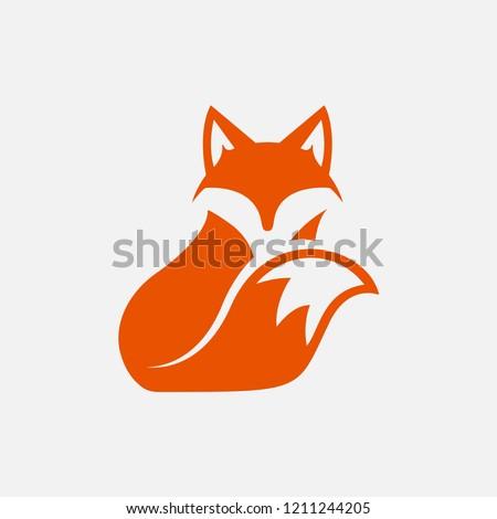 unique fox logo design