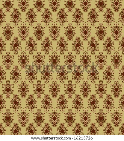 vintage wallpaper vector. stock vector : Unique Vintage Wallpaper Background