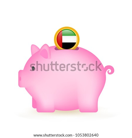 United Arab Emirates Piggy Bank Savings