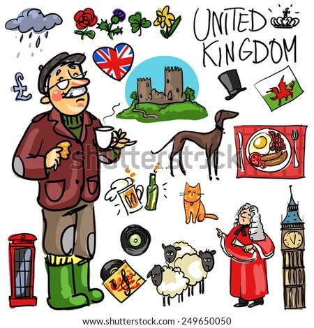united kingdom cartoon