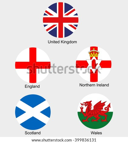 united kingdom collection flags