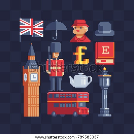 united kingdom icons british