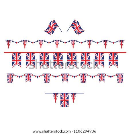 United Kingdom set flag #1106294936